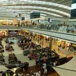 Une zone vapoteur à l'aéroport de Londres