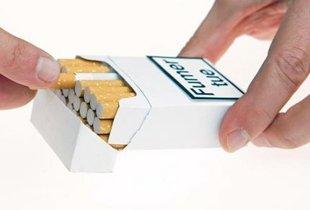 paquet de cigarette vierge